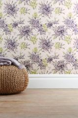 Next watercolour floral wallpaper